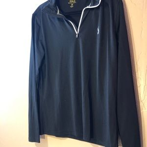 Men's Polo Fleece light sporty material Size M